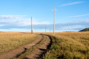 Following the power lines can be easier said than done
